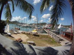 View from Antigua Yacht Club