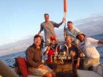 Crew from Antigua to Bermuda