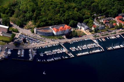 Kieler Yacht Club and Olympiahafen