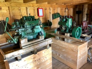 Isle aux Marins engine shop